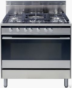 "Fisher & Paykel OR36SDBGX2 36"" Pro-Style Gas Range with 5 Sealed Burners, 4.0 cu. ft. Convection Oven, Manual Clean and Double Glazed Doors"
