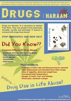 DRUGS HARAAM