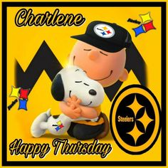 Steelers Pics, Happy Thursday, Pittsburgh, Champion, Snoopy, Fictional Characters, Art, Art Background, Kunst