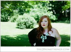 Finally a Plus Size Little Black Dress that is amazing! - Stetson K Patton