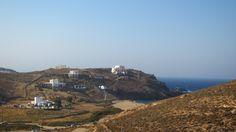 """2 - The beach where """"Wog Boy Kings of Mykonos"""" was filmed. Best Greek Islands, Water Activities, Mykonos, Gopro, Transportation, Greece, Mountains, Film, Beach"""