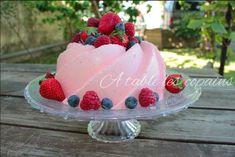 Mousse de fraise en bavarois