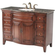 Stufurhome Yorktown 48-inch Single Sink Vanity - Overstock™ Shopping - Great Deals on Stufurhome Bathroom Vanities