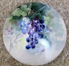 Grapes painted by Linda