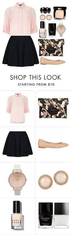 """""""Geen titel #207"""" by dipske ❤ liked on Polyvore featuring Dorothy Perkins, Givenchy, TWISTY PARALLEL UNIVERSE, Chloé, Topshop, ALDO, Bobbi Brown Cosmetics, Chanel and Butter London"""