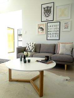 The Design Chaser: Home Build | Living Room Update
