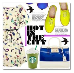 """""""Untitled #47"""" by jkiva ❤ liked on Polyvore featuring Furla, Christian Louboutin and beachtotes"""