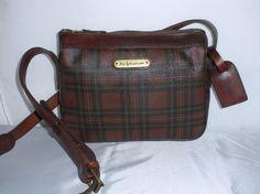 620a2941058d Vintage Polo by Ralph Lauren Burgundy Plaids by Bagsandaccessories Ralph  Lauren Bags