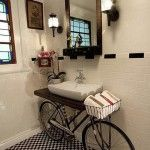 Bicycle Bathroom Sink