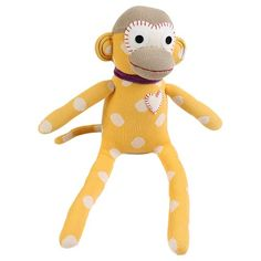 aap-knuffel-geel