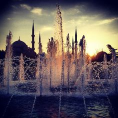 Sultanahmet, Istanbul by @clainmccabe on Instagram