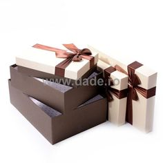 Set 4 cutii de cadou Crem-big Container, Gift Wrapping, Gifts, Gift Wrapping Paper, Presents, Wrapping Gifts, Favors, Gift Packaging, Gift