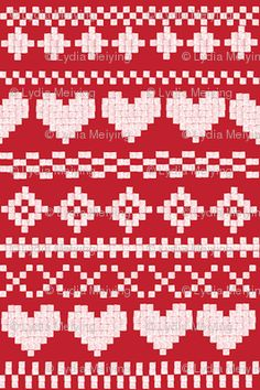 Another possible reversible knitting pattern fairisle pattern. Another possible reversible knitting pattern Fair Isle Knitting Patterns, Fair Isle Pattern, Knitting Charts, Knitting Stitches, Knitting Designs, Knitting Socks, Knit Patterns, Knitting Projects, Stitch Patterns