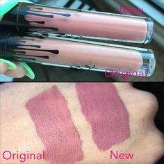 While she found the quality of Kylie's new formula to be just slightly lower, the color of the new formulation — which is listed as the same product on Kylie's website — is also different.
