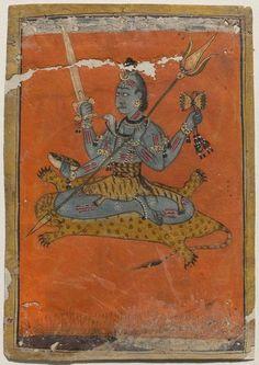 Bhairava Rajput, Pahari, Jammu, G: first quarter 18th century Museum of Fine Arts, Boston