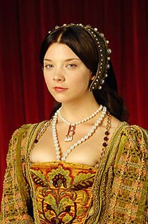In a Tudor phase--Natalie Dormer as Anne Boleyn