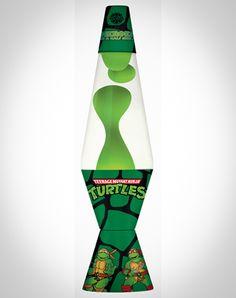 Teenage Mutant Ninja Turtles Turtle Power Pattern Lava Lamp. $24.99 at Spencer's.