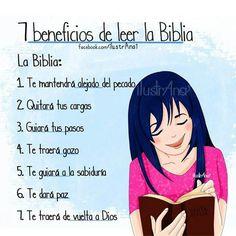 7 beneficios de leer la Biblia...