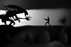 Creative paper-cut silhouettes by David A. Reeves