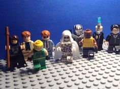 Believe it or not I have spent my whole day making custom minifigures! What you see above are 9 custom minifigures made by me.  1. Gambit 2.Foggy 3.Ironfist 4.Matt Murdock 5.Moonknight 6.WarMachine 7.Luke Cage/Powerman 8. Kingpin 9.Wesley Hope you enjoy them! I'll definitely having them in brickfilms soon!-#bricknetwork #brick #bricknation #legoworld #finntoybox #brickfilm #legoaddict #legomania #lego #kfol #toyslagram #legogram #legophotography #legosuperheroes #legopics #toys #legostagram…
