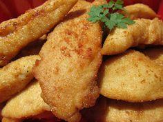 rebozado especial para pollo con thermomix,rebozados con thermomix, Fish Recipes, Snack Recipes, Fish Batter Recipe, Perfect Fry, Sauces, Tempura Batter, Battered Fish, Dough Ingredients, Fried Fish