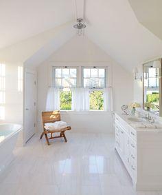 white bathroom | Victoria Hagan Interiors