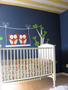 Owl Themed Nursery at James Hill at Ross Bridge - www.signaturehome...