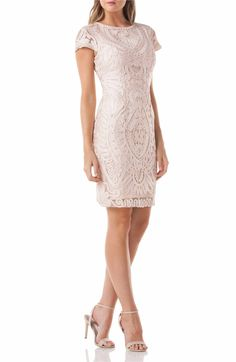 25bc3367cdb JS Collections Soutache Dress (Regular   Petite)