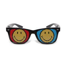 Smiley 3D2 Glasses by Nunettes - Fab.com