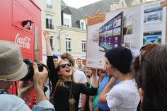 Streetplanneur >> Le Happiness Truck de Coca-Cola débarque en France !
