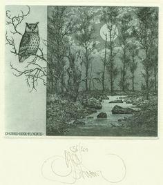 Ex libris K.Kalinovich pro H. Blokhuis