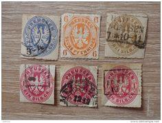 kleines Altdeutschland Marken Lot - Preußen Silber Groschen / Pfennig - Adler Motiv