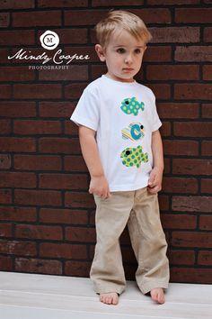 Fish Shirt  Summer TShirt  Beach Shirt   You by roundthebendagain, $24.00