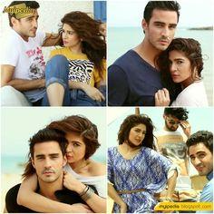 Ayesha Omar & Sikander Rizvi BTS Pepe Jeans