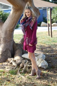 How to Style a Blanket Scarf. Thanksgiving Outfit, Dressy, Casual