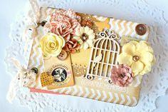 Travel Journal Scrapbook Journal Wedding by ArtistsCornerShop
