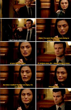 #TheOriginals #3x11 - I wanted to blame you. Blame anyone. But the truth is: My husband died because he loved me.