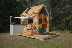 green-escape-playhouse by ZeroEnergy Design (ZED)