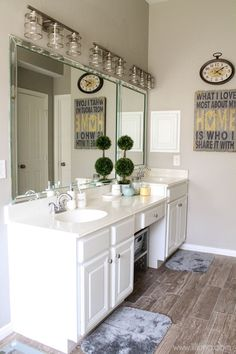 Bathroom makeover, Love if!