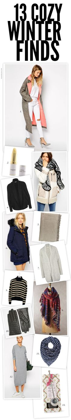13 Cozy Winter Finds