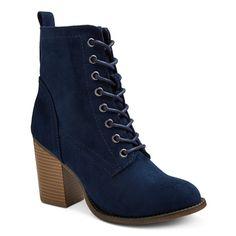 Women's Yolanda Heeled Lace Up Boots