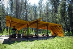 Pine Creek Pavilion | Artemis Institute | Archinect