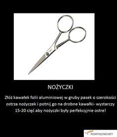 Ekspresowe zaostrzenie nożyczek - Pomyslowi.net