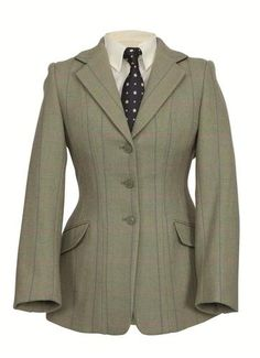 Shires Ladies Huntingdon Tweed Hacking Jacket