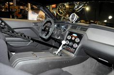 2013 Ford Mustang Cobra Jet interior. Would be sweet in a vic.