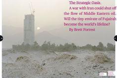 """Kate Peters photographs """"Fujairah, The Strategic Oasis"""" for Bloomberg Businesweek"""