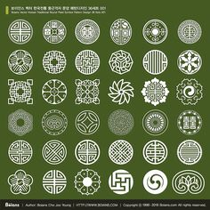 http://www.boians.com/shop/boians-vector-korean-traditional-round-plaid-symbol-pattern-design-36-sets-001/