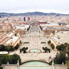 Views from Terrassa MNAC - Barcelona