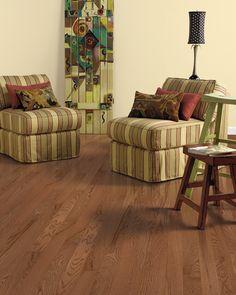 """DaVinci Oak 3/4"""" x 3 1/4"""" Hardwood flooring with  Scotchgard®, 4 colors"""