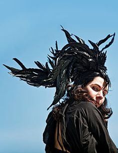 PJ's new album is fantastic, as is the headpiece she wears here.